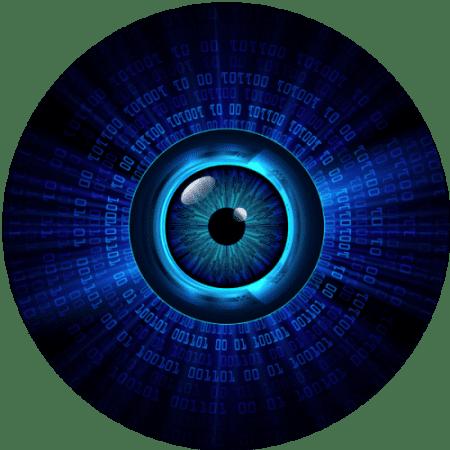 Digital camera lens image