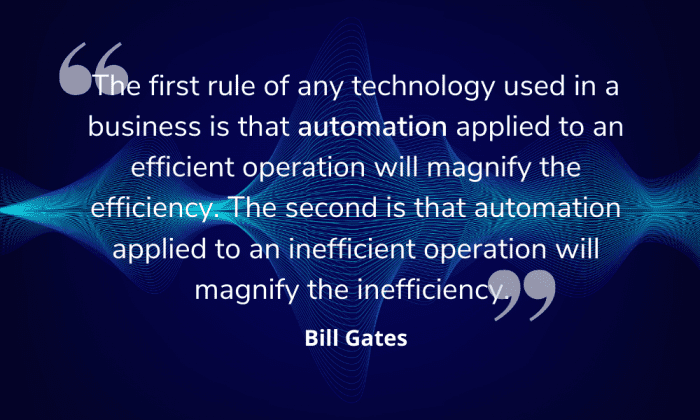 Automation quote image